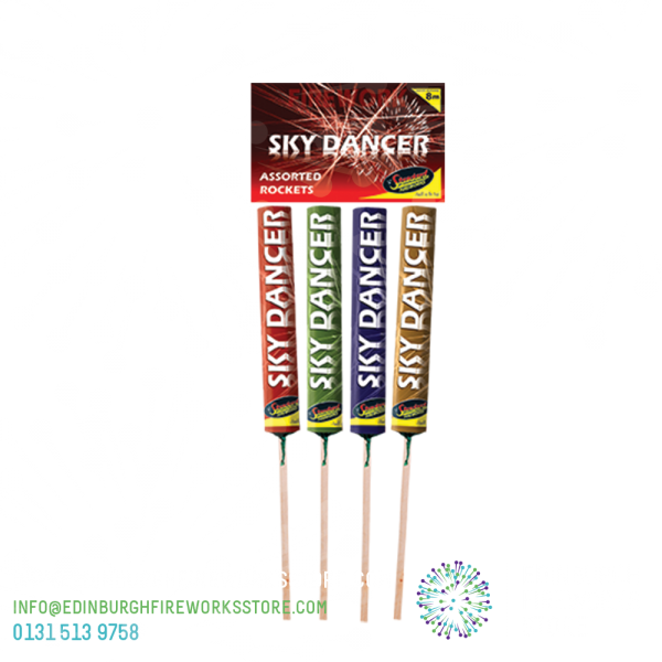 Sky-Dancer-Rockets-by-Standard-Fireworks-from-Edinburgh-Fireworks-Store